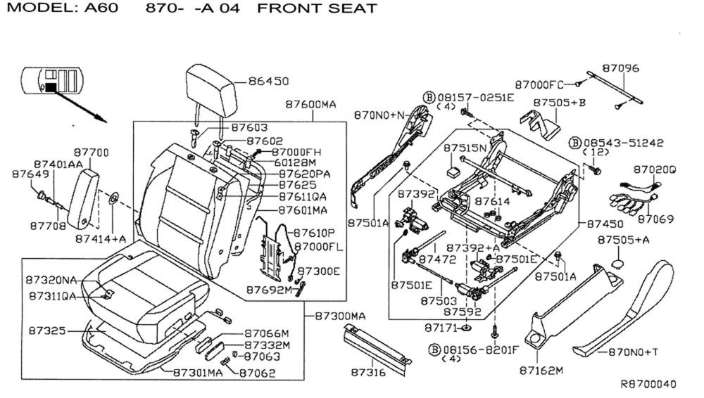 medium resolution of nissan seat diagram wiring diagram centre drivers side seat cushion nissan titan forumtruck seat cushion2 jpg