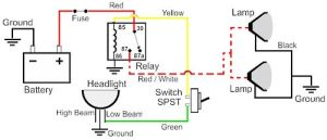 Wiring Diagram for Illuminated Rocker Switch  Nissan
