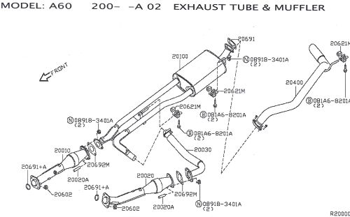small resolution of for older titans upgraded oem exhaust diagram scan0001 jpg