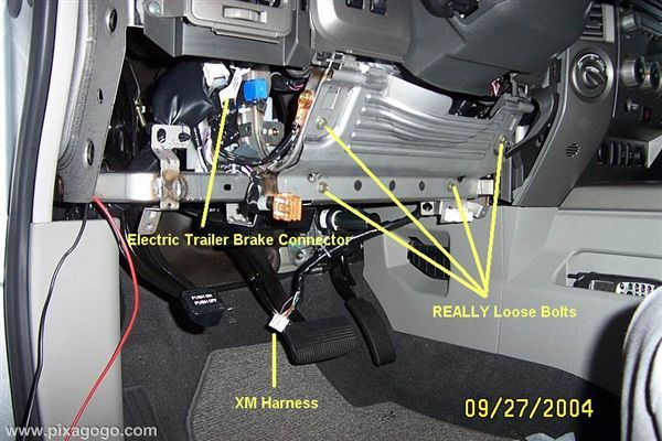nissan frontier audio wiring diagram sample er for hotel management system what is an electric brake jumper cable ? - titan forum