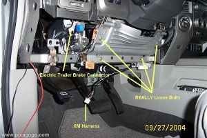 WHAT is an electric brake jumper cable ?  Nissan Titan Forum
