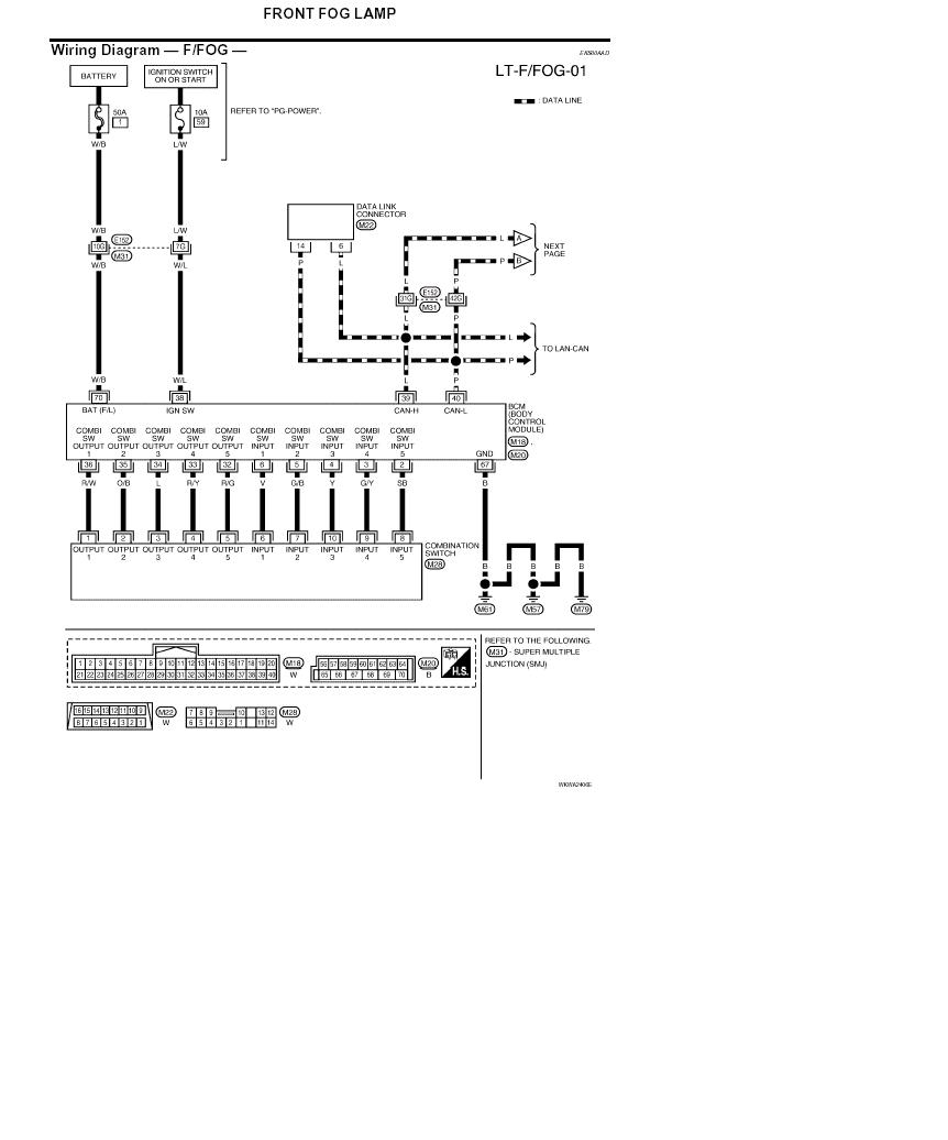 hight resolution of wiring diagram for fog light on titan cc xe nissan titan forum nissan altima radio wiring diagram nissan light wiring diagram