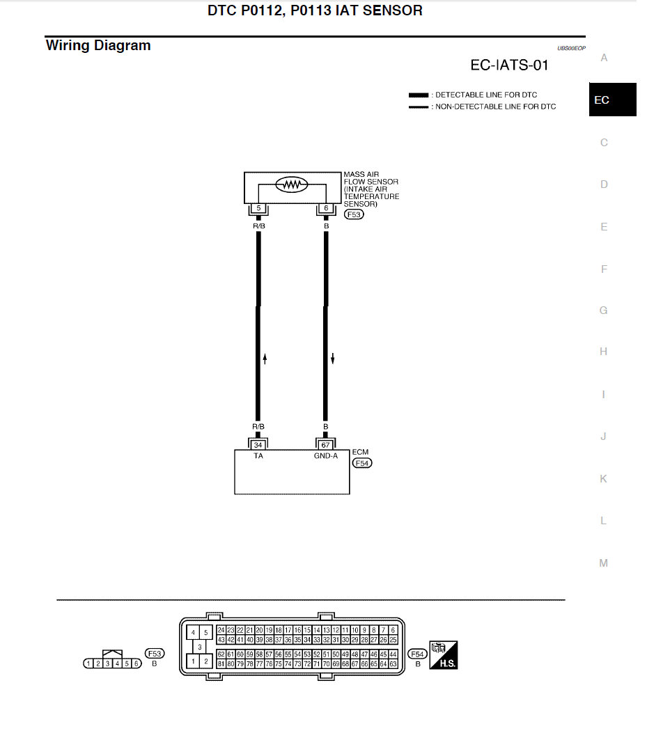 medium resolution of iat sensor wiring diagram schematic