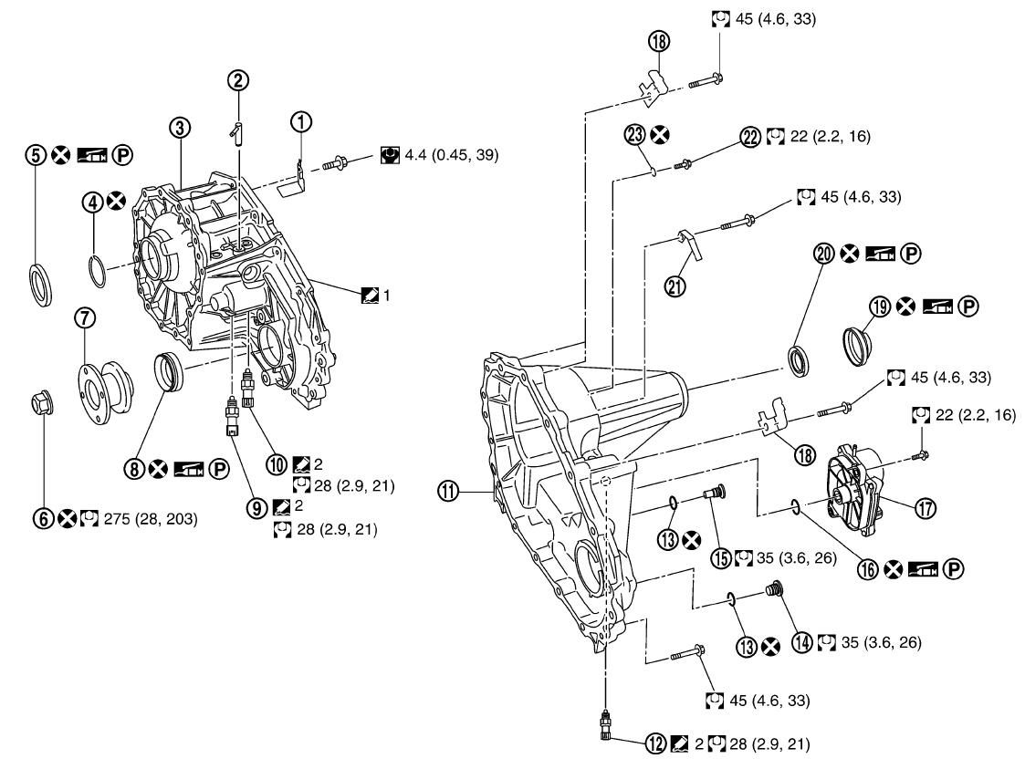 Nissan titan transfer case oil
