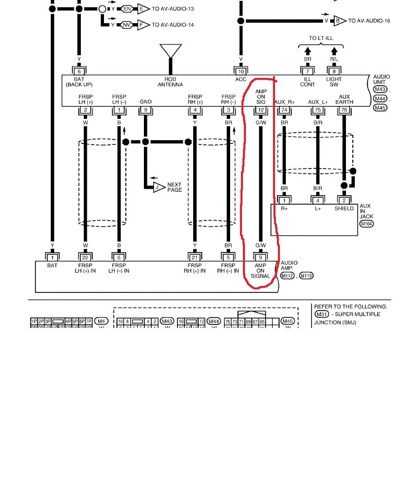 rockford fosgate punch p200 2 wiring diagram 2001 ford taurus cooling system amp color schematic library