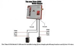 Titan Tankless N270 Model Water Heater