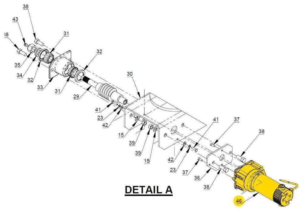 medium resolution of auto crane auto crane motor 2703 auto330313000 330313000 titan rh titantruck com goodall start all wiring diagram crane motor wiring diagram