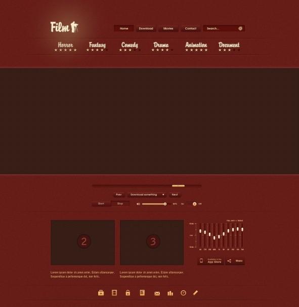 Film Web UI