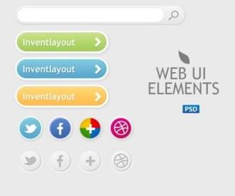 Simple Web UI Elements