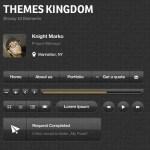 Glossy UI Elements