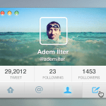 Twitter For osx Interface