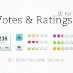 Votes & Rating UI Kit