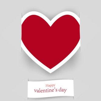 Beautiful Valentine Card 04