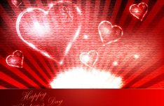 Beautiful Valentine Card 07
