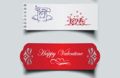 Beautiful Valentine Card 14