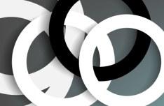 Circular Ring Vector Background 03