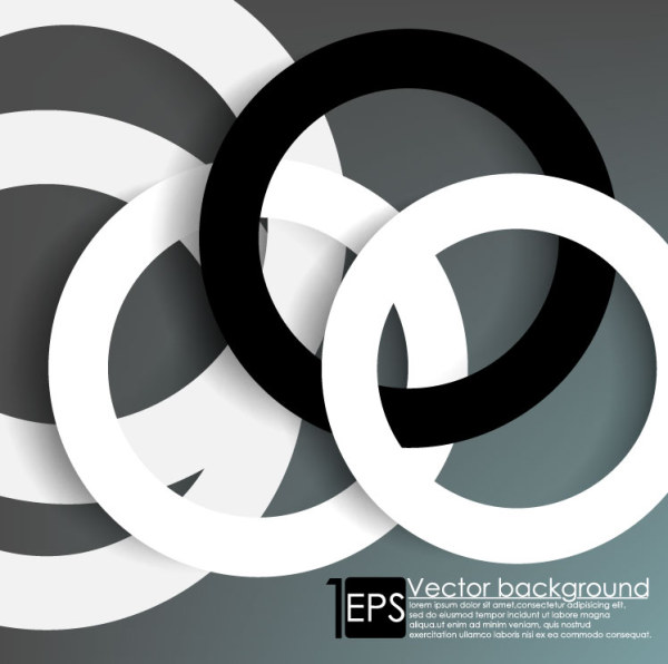 Circular Ring Vector Background 03