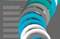 Circular Ring Vector Background 04