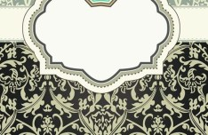 Classic European Pattern Background 03