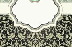 Classic European Pattern Background 03