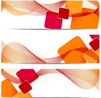 Colorful Abstract Banner 01