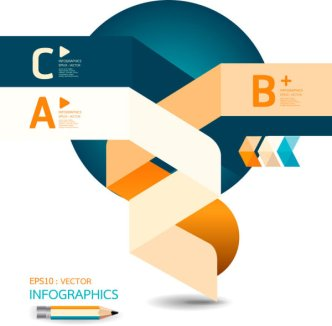 Creative Business Information Vector Graphics 01