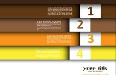 Creative List Banner Vector 03