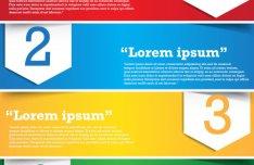 Creative List Banner Vector 05