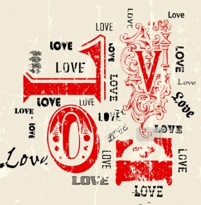 Doodle Style I Love You Illustration Vector 02