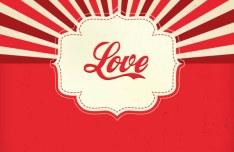 Elegant Valentine's Day Card Template Vector 13