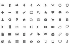 Grey Icon Set