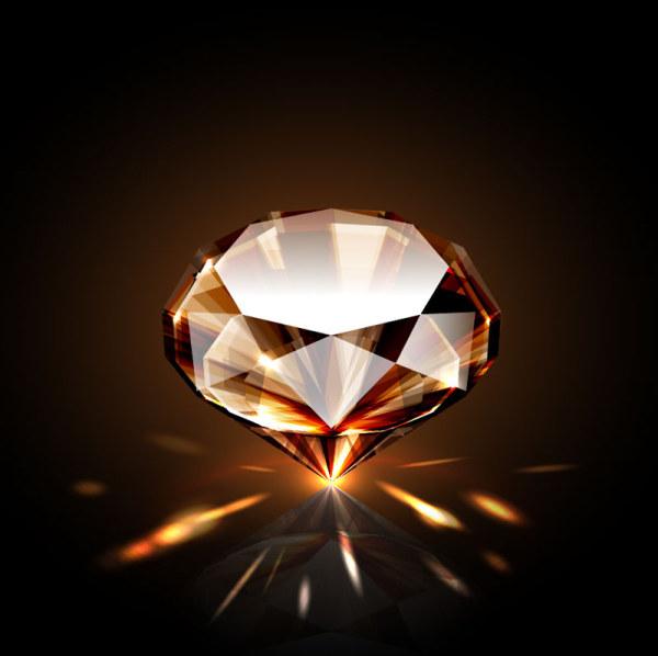 High Quality Shining Diamond Vector 01