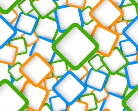Lovely Modern Vector Background 02