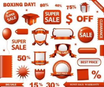 Mall PromotionalVector Design Material