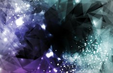 Modern Abstract Triangles Background Vector 01