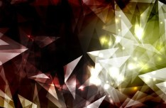 Modern Abstract Triangles Background Vector 02