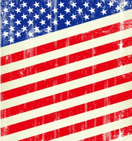 american flag vintage vector - photo #4