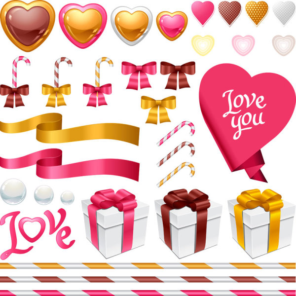 Romantic Valentine's Day Items