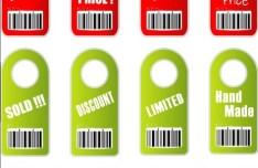 Set Of Sales Hang Tags