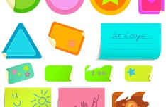 Sticky Notes Vector