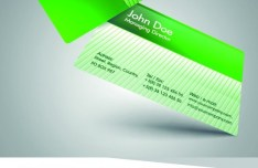 Stylish Color Business Cards 03