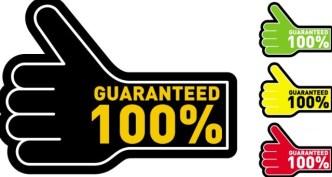 Thumb Guaranteed Label Vector Material