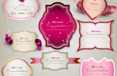 Valentine's Day Romantic Labels