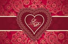 Valentine's Day Vector Background 02