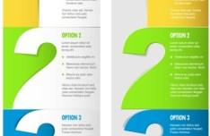 Vector Numbered List Design 03