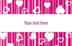 Vector Valentine's Day Greeting Card 04
