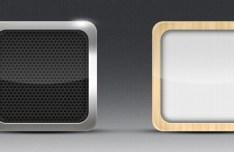 iOs App Icons PSD Template