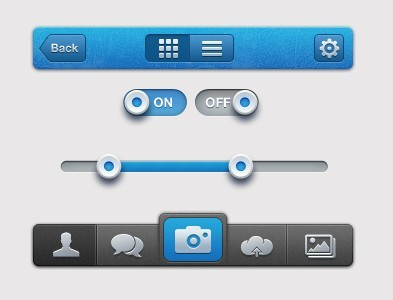 iPhone UI Elements