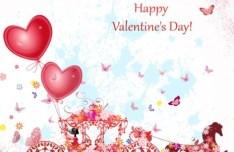 Elegant Valentine's Day Vector Illustration 04