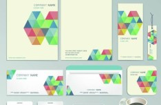 Stylish Business Card Template Vector 03